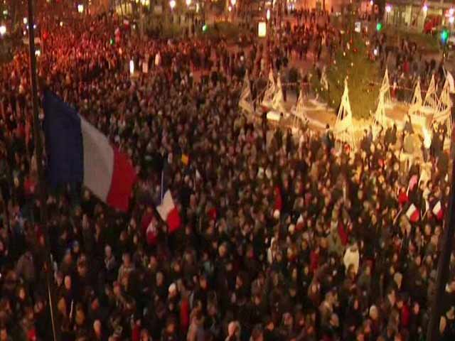 Video : World Leaders Join Mass Paris March to Honour Attack Victims