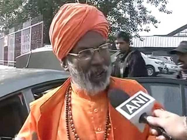 Video : 'Haven't Got Any Showcause Notice From Party Yet,' Says BJP Lawmaker Sakshi Maharaj