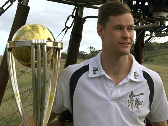 Video : ICC World Cup Trophy Floats To New Heights in Canberra