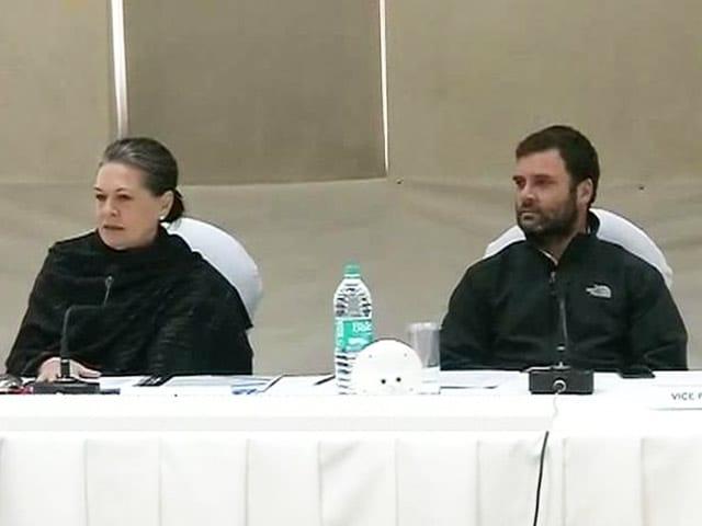 Video : At Congress Brainstorming Meet, Sonia Gandhi Targets PM Modi