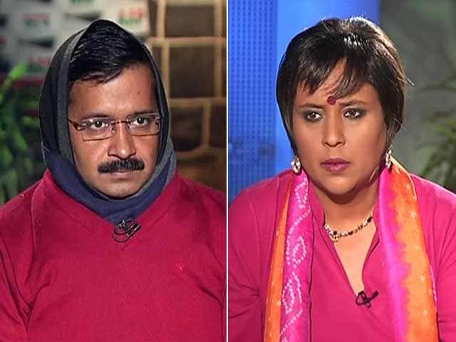"Video : ""Delhi, Do I Look Like a Naxal?"" Arvind Kejriwal Takes on PM"