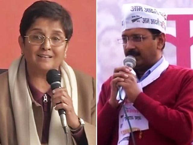 Video : BJP's Big Delhi Catch: Kiran Bedi to Counter AAP's Kejriwal