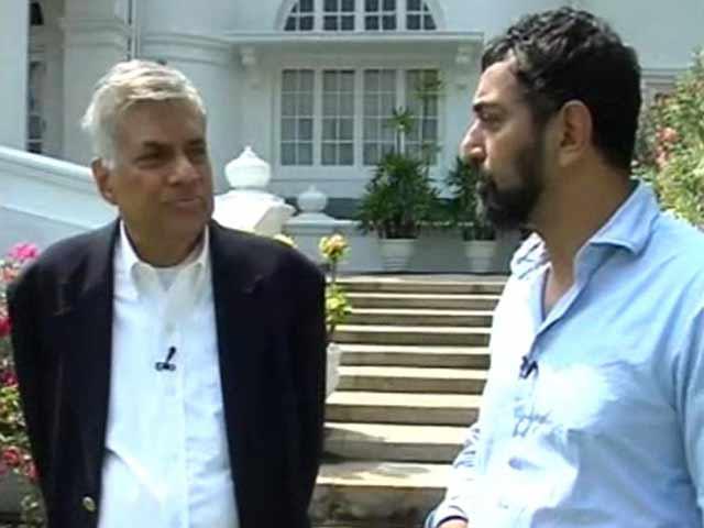 Video : President Rajapaksa Played China Against India, Sri Lankan PM Ranil Wickremasinghe Tells NDTV