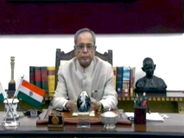 Videos : इंडिया 7 बजे  : राष्ट्रपति की सरकार और विपक्ष को नसीहत