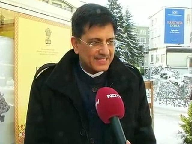 Video : There is No Roadblock to PM Modi's Agenda: Piyush Goyal