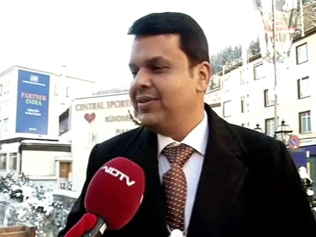 Video : Mumbai Could Become Global Financial Capital: Fadnavis at Davos