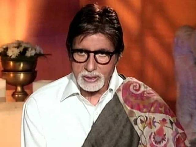 Video : Excited About Increase in Tiger Numbers: Amitabh Bachchan