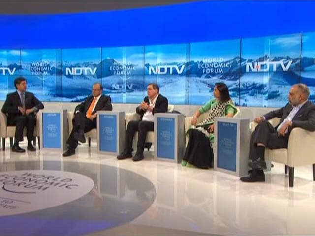 Video : India's Next Decade at the World Economic Forum Debate
