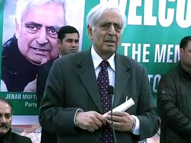 Video : Track 2 Talks Going on With BJP for J&K Government Formation, Says Peoples Democratic Party