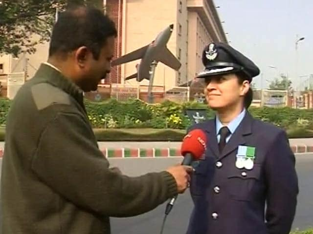 Video : Hope This Inspires More Women to Join the Forces, Says Wing Commander Pooja Thakur to NDTV