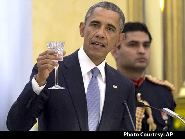 Video : At Banquet, Obama Talks of 'Dosti' and 'Modi Kurta'