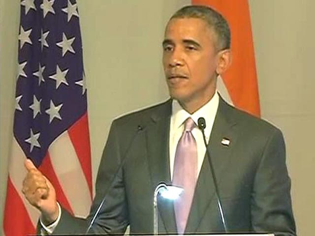 Video : On Trade With India, President Obama says 'We've Got to do Better'