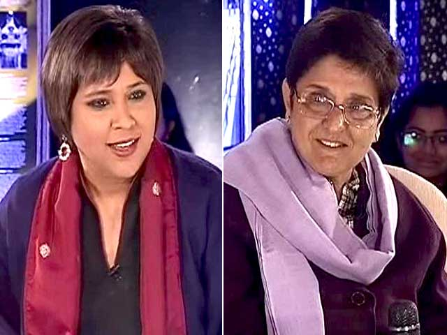 Video : Wave for Me at Par with Modi Wave of 2014, Says Kiran Bedi to NDTV