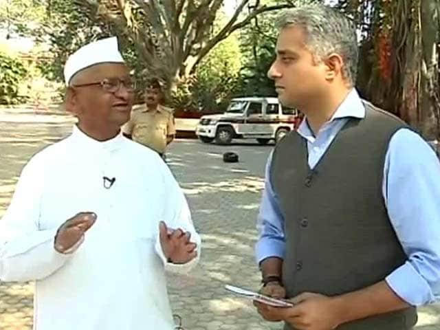 Video : 'Don't Need a Kiran Bedi or Arvind Kejriwal,' Says Anna Hazare