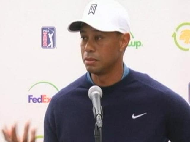 Video : Tiger Woods Jokes About His Missing Tooth