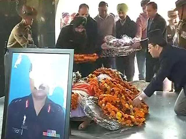 Video : India Salutes Colonel MN Rai, Braveheart Martyred in Kashmir