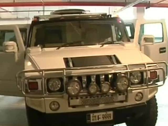 Video : Kerala Businessman Decided to Punish Guard by Driving Hummer Into Him