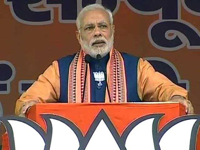 Video : 'If my Luck can Benefit the Country, Why Elect Someone Unlucky,' Says PM Modi