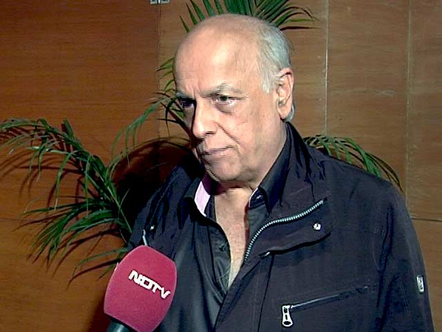 Video : Mahesh Bhatt: It's Important to Create a Support System for Cancer Patients