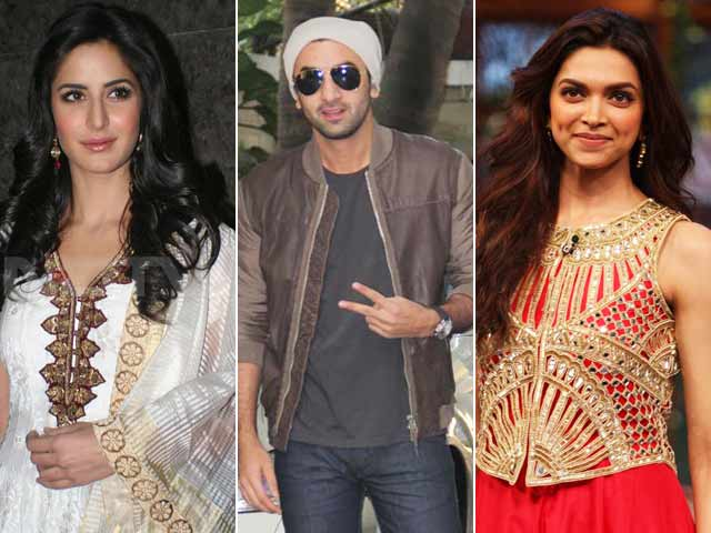 Video : Katrina, Ranbir, Deepika and the (E)x Factor