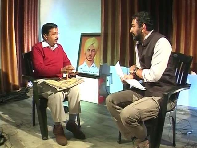 Video : 'Does Hawala Money Move Through Cheques?' Arvind Kejriwal to NDTV