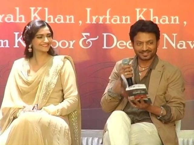 Sonam, Irrfan, Farah's Poetic Side