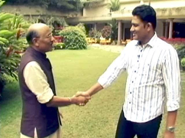 Videos : चलते चलते अनिल कुंबले के साथ
