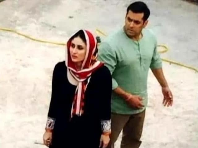 Video : Salman Khan Wraps up <i>Bajrangi Bhaijaan</i>
