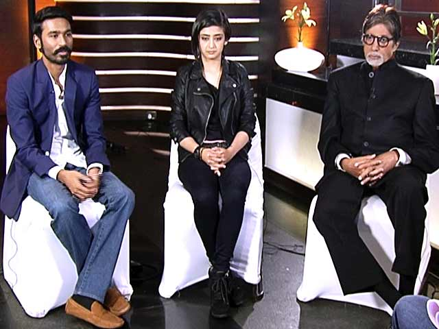 Video : The <I>Shamitabh</I> Diary: In Conversation With Big B, Dhanush and Akshara