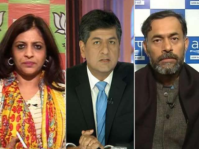 Video : The Big Fight - Advantage AAP, Show Exit Polls