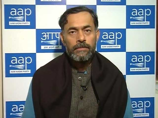 Video : Fevicol for Kejriwal, Bouquets for BJP, Says Yogendra Yadav of AAP