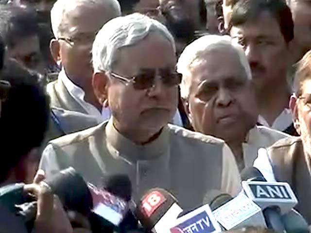 Videos : नीतीश कुमार ने पेश किया सरकार बनाने का दावा