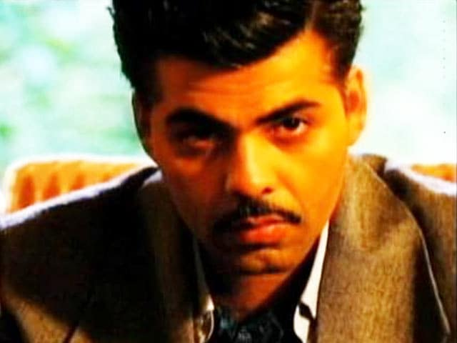 Video : Karan Johar's Shrewd Look in <i>Bombay Velvet</i>