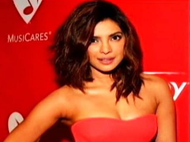 Priyanka Chopra Glams-up LA