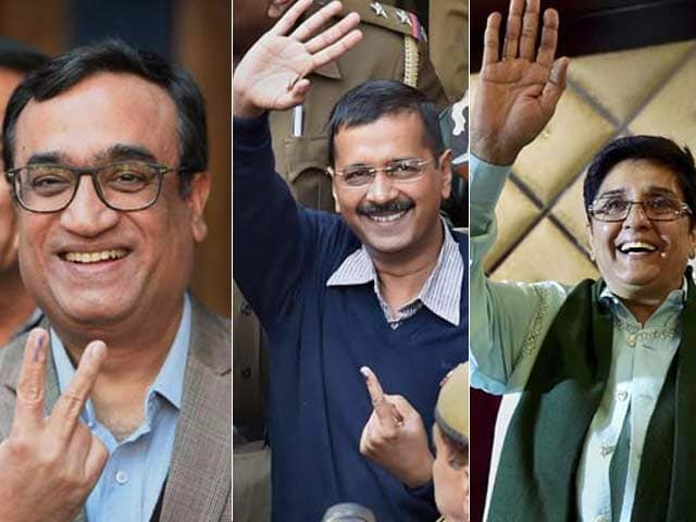 Video : Counting of Votes in Delhi Today, Advantage AAP, Say Exit Polls