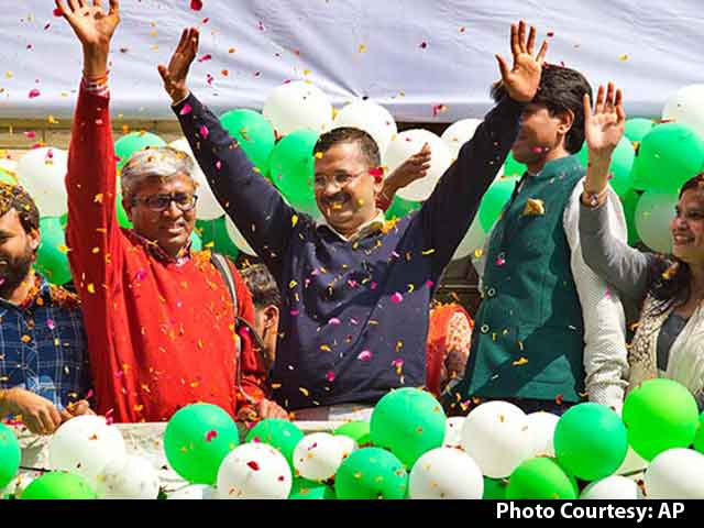 Video : Watch Arvind Kejriwal's Entire Victory Speech Here