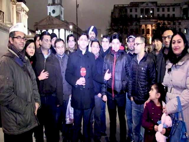 Video : The Day </i>Panch Saal</i> Kejriwal Echoed in Trafalgar Square