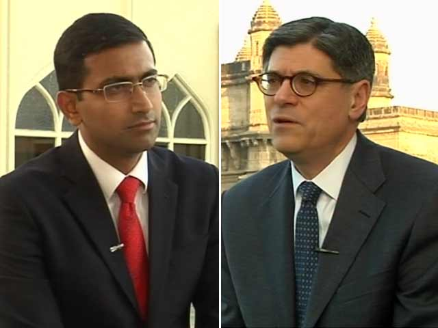 Video : Exclusive Interview With US Treasury Secretary