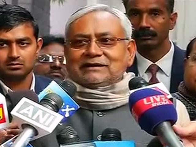 Videos : नीतीश ने साधा बीजेपी, राज्यपाल पर निशाना