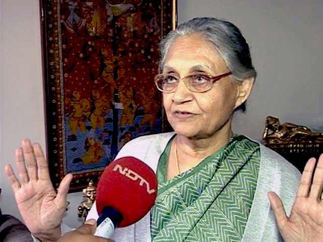 Video : Didn't Think Congress Will Get Zero Seats: Sheila Dikshit to NDTV