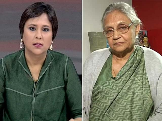 Video : Delhi Election Results: 'Pity Ajay Maken, His Comments Unbecoming,' Says Sheila Dikshit to NDTV