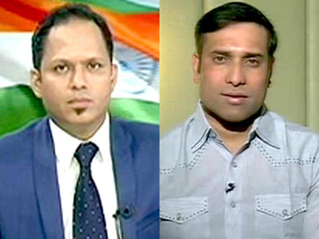 Videos : भारत-पाक मैच में दबाव दोनों टीमों पर : लक्ष्मण