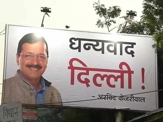 Video : Arvind Kejriwal to Take Oath as Delhi Chief Minister Today