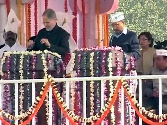 Video : अरविंद केजरीवाल फिर बने दिल्ली के मुख्यमंत्री