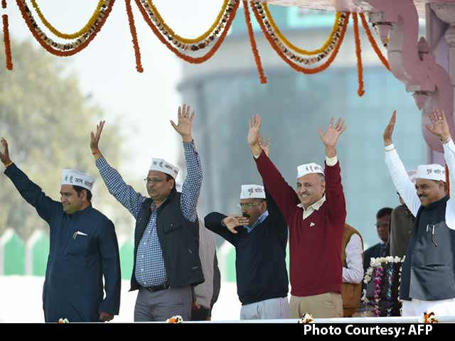 Video : Arvind Kejriwal's New Cabinet, India's Youngest Ever, Takes Oath