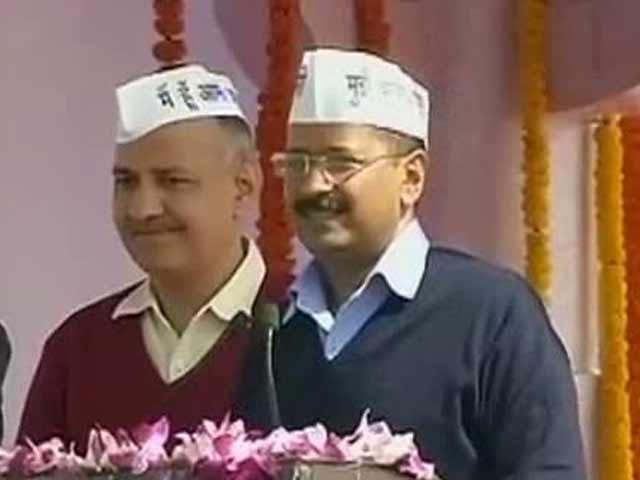 Video : Delhi Chief Minister Sings <i>Insan Ka Insan Se Ho Bhaichara</i>