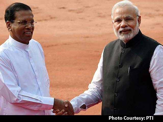 Video : PM Modi, Sri Lankan President Maithripala Sirisena Sign Deal in Civil Nuclear Cooperation