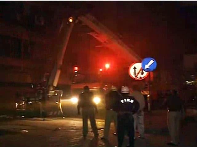 Video : दिल्ली के भीकाजी काम प्लेस में लगी आग