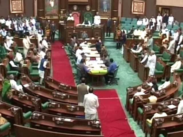 Video : Assembly Adjourned in Madhya Pradesh After Ruckus Over Exam Scam
