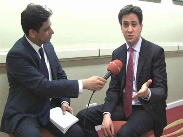 Video : I Don't Care About My Image: Ed Miliband To NDTV